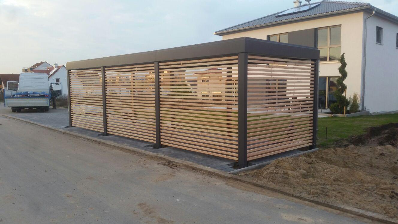 Carport Douglasie douglasie carport cool with douglasie carport trendy gertehaus aus